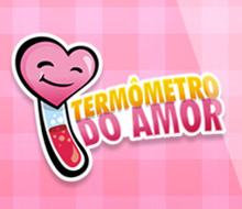 App Design Termômetro do Amor