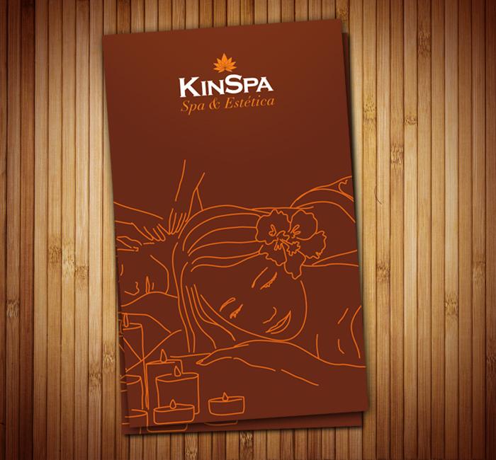Logo Design e Identidade visual KinSpa