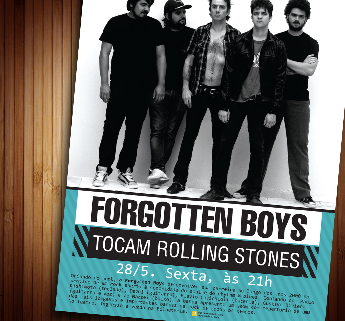 Cartaz Forgotten Boys